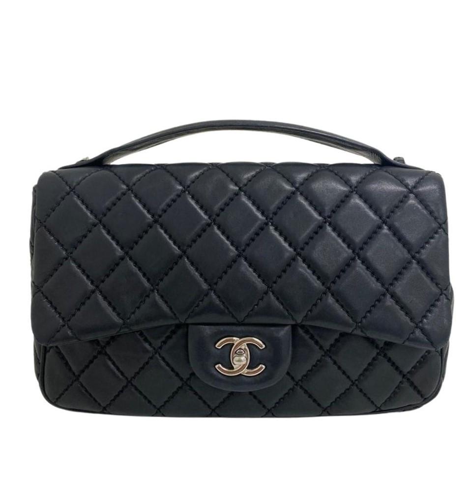 Bolsa Chanel Preta Lambskin