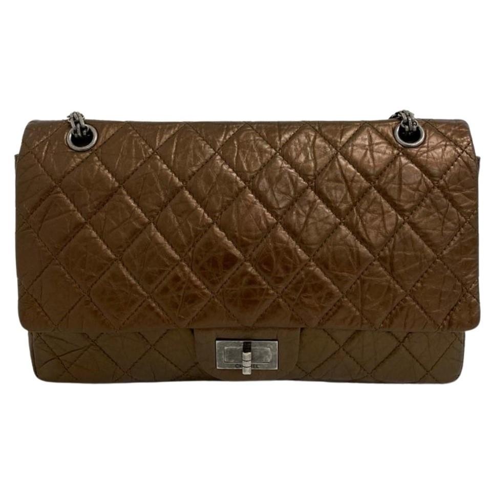Bolsa Chanel Reissue Bronze