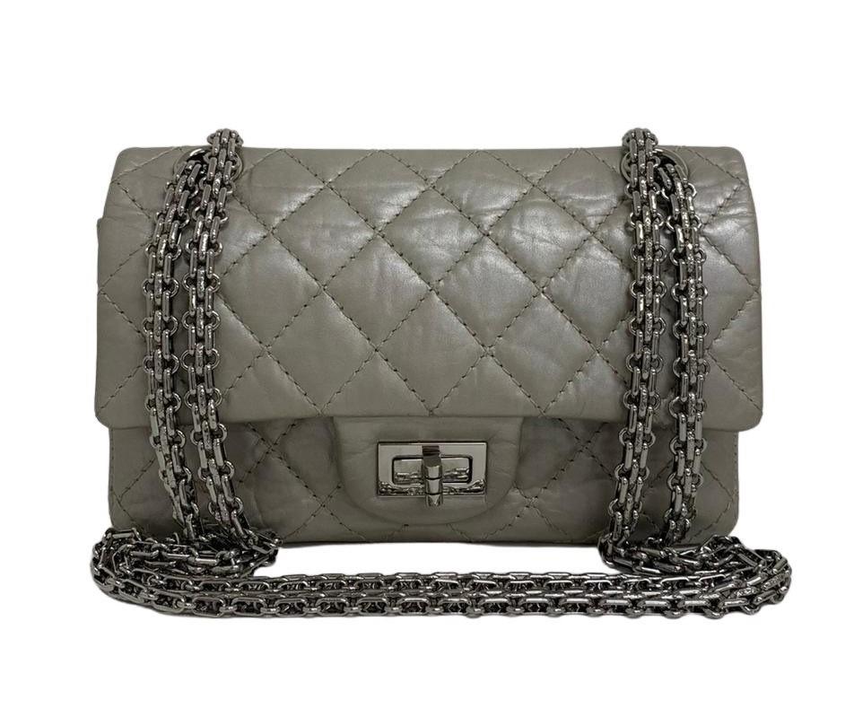 Bolsa Chanel Reissue Prata