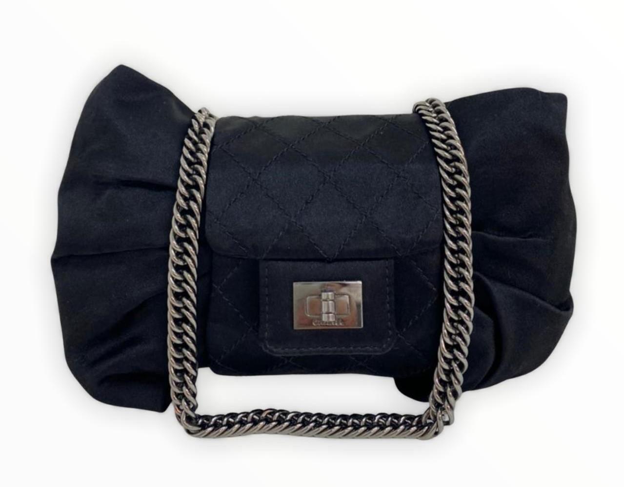 Bolsa Chanel Shoulder Cetim
