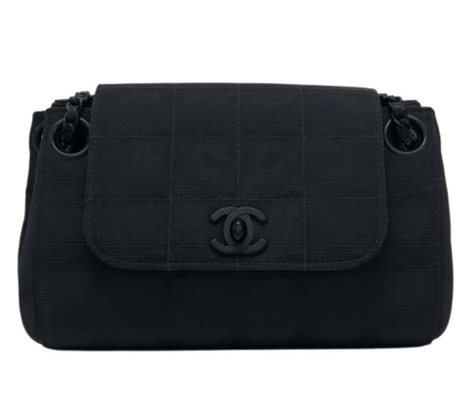 Bolsa Chanel Shoulder All Black