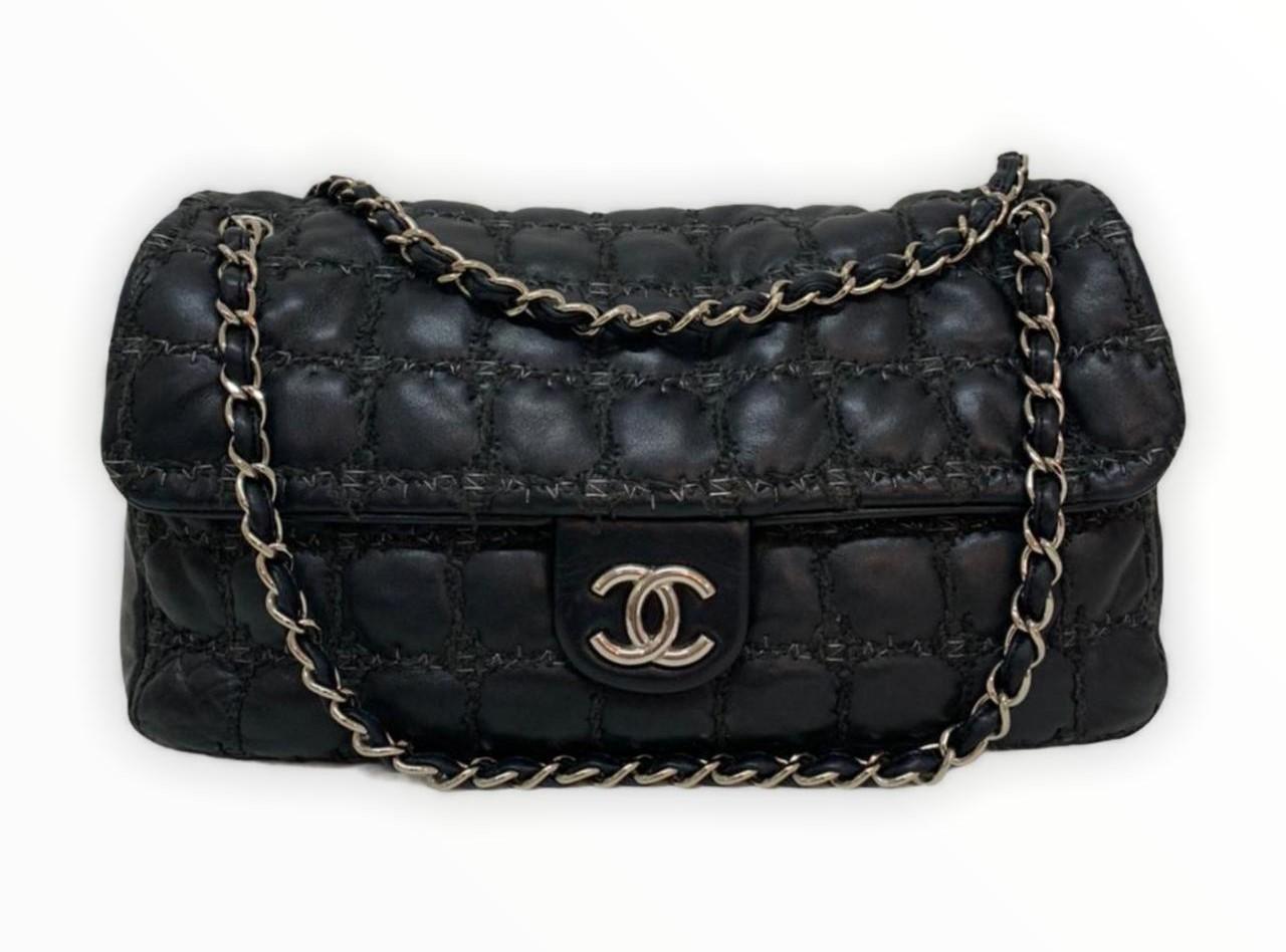 Bolsa Chanel Shoulder Black