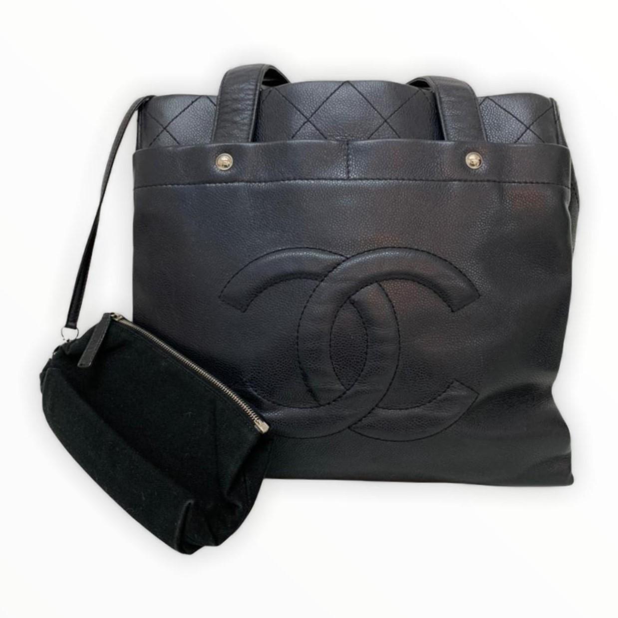 Bolsa Chanel Shoulder Preta