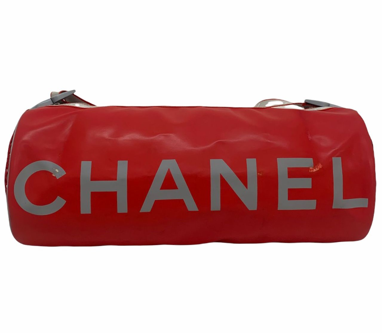 Bolsa Chanel Sports Line Coco Mark Boston Vermelha