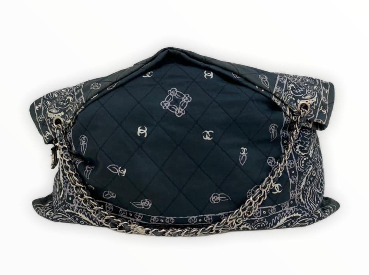 Bolsa Chanel Tecido Shoulder