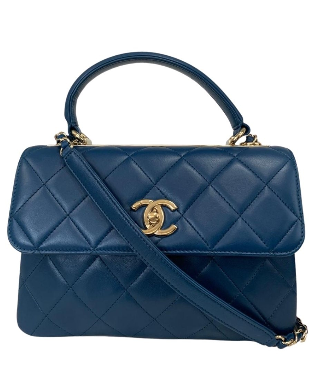 Bolsa Chanel Trendy CC Azul