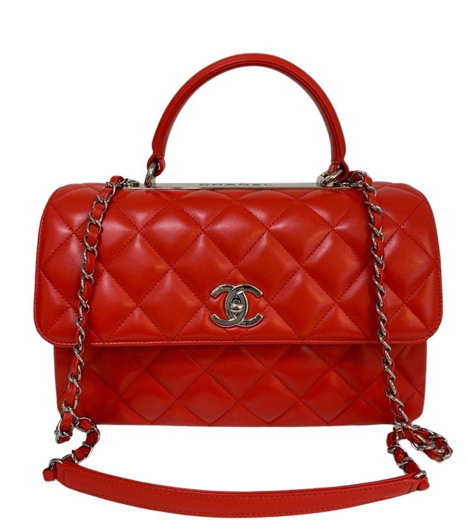 Bolsa Chanel Trendy Cc Vermelha