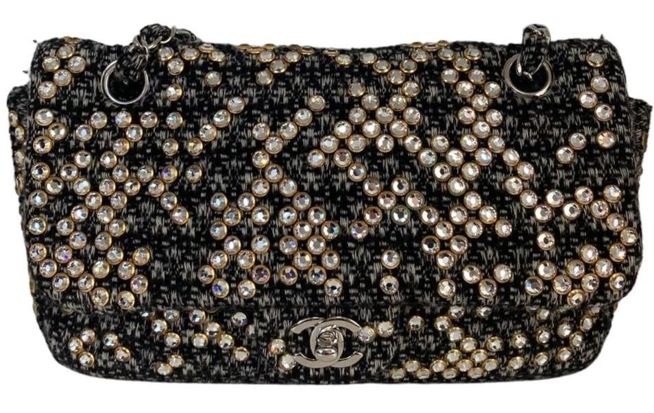 Bolsa Chanel Tweed