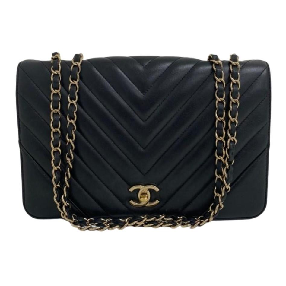 Bolsa Chanel Wallet on Chain Chevron
