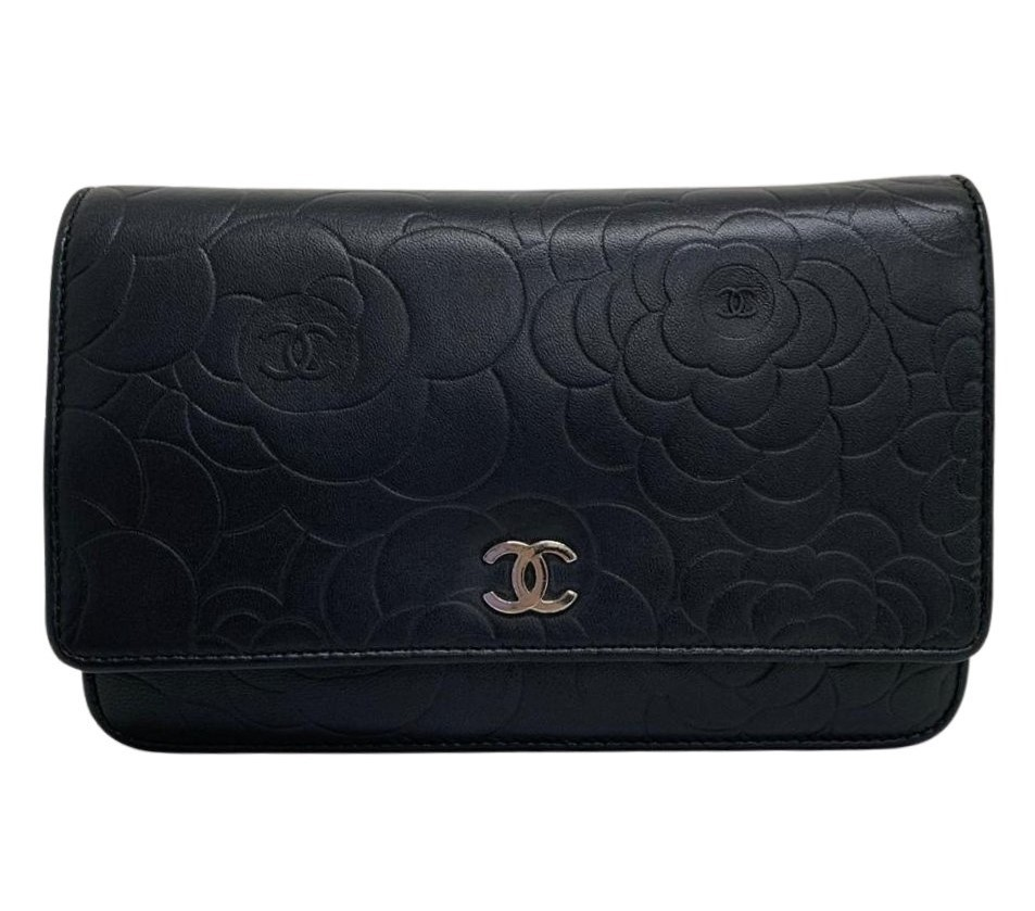 Bolsa Chanel Woc Camélia Preta