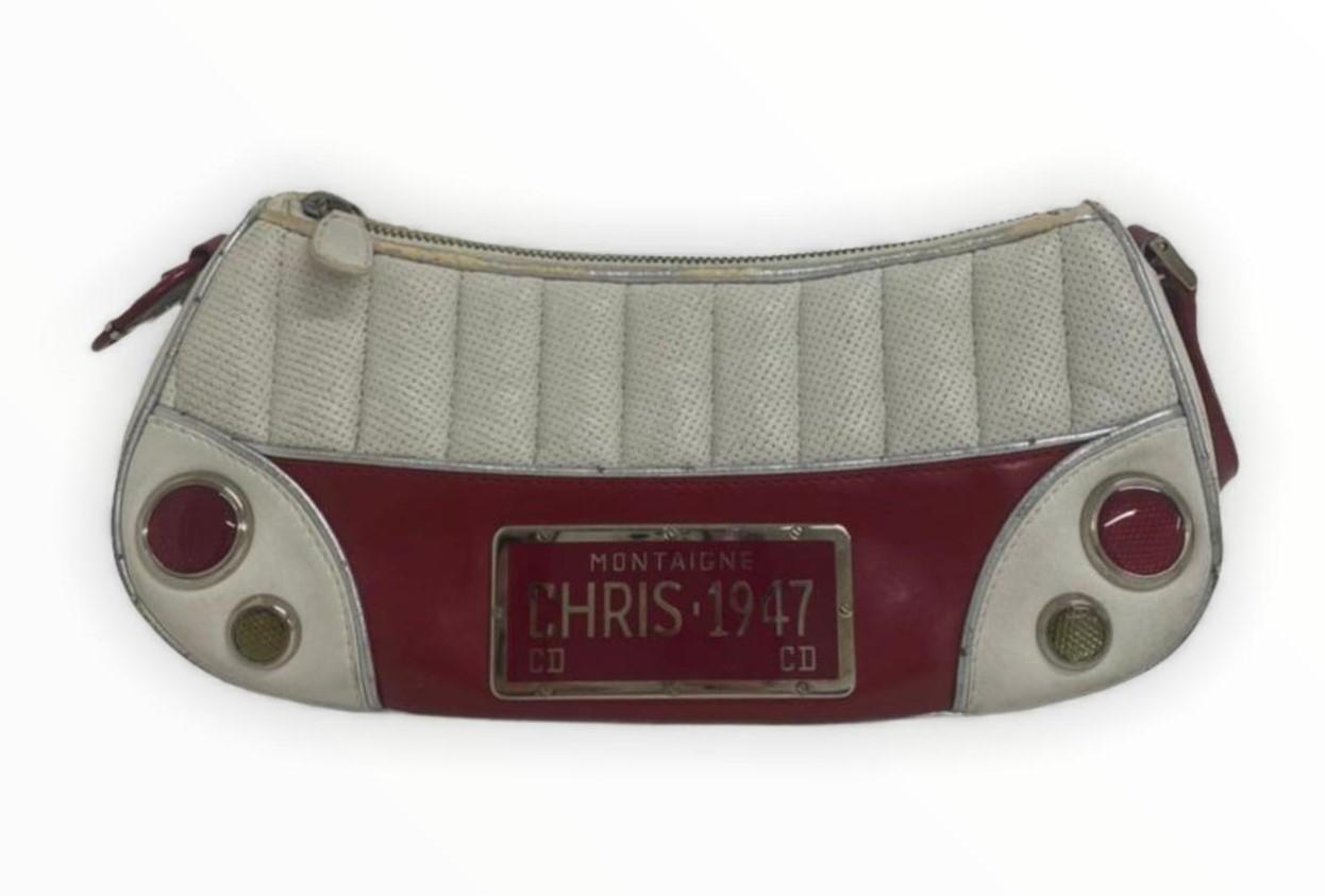 Bolsa Dior Chris 1947 Bicolor