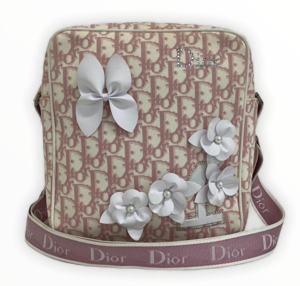 Bolsa Dior Diorissimo Canvas Girly Messenger