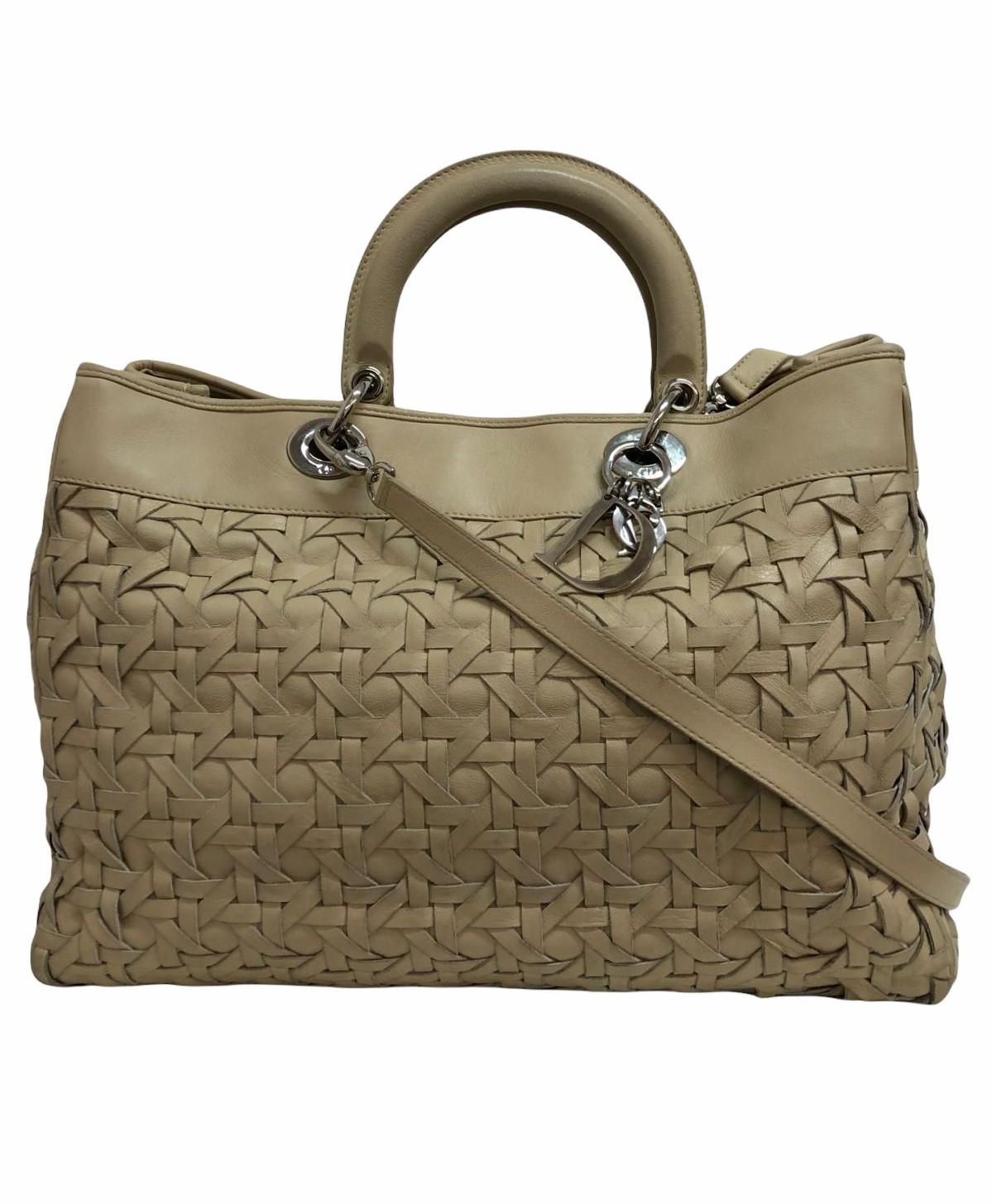 Bolsa Dior Lady Dior Avenue Woven Large