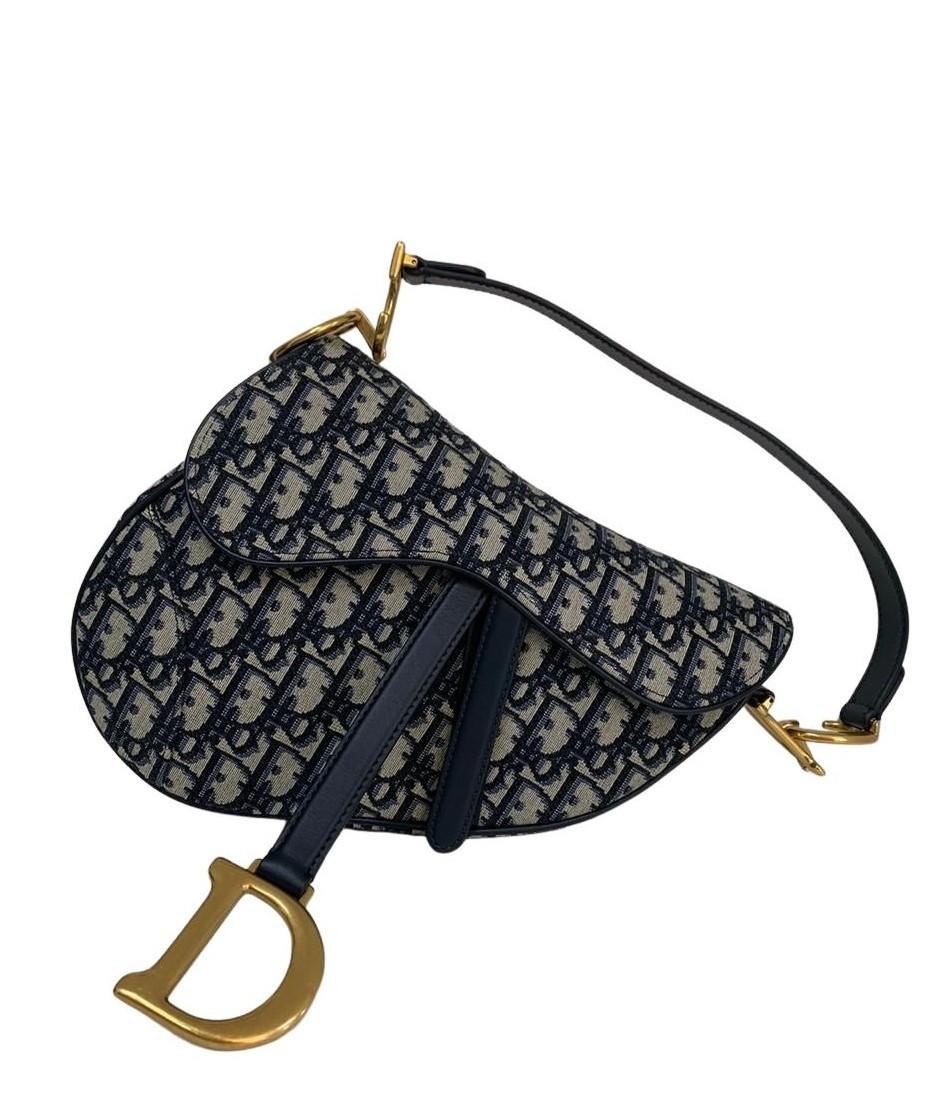Bolsa Dior Saddle Oblique Jacquard
