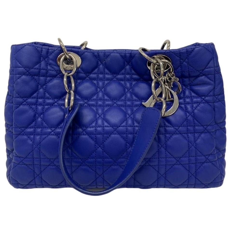 Bolsa Dior Soft Shopping Azul