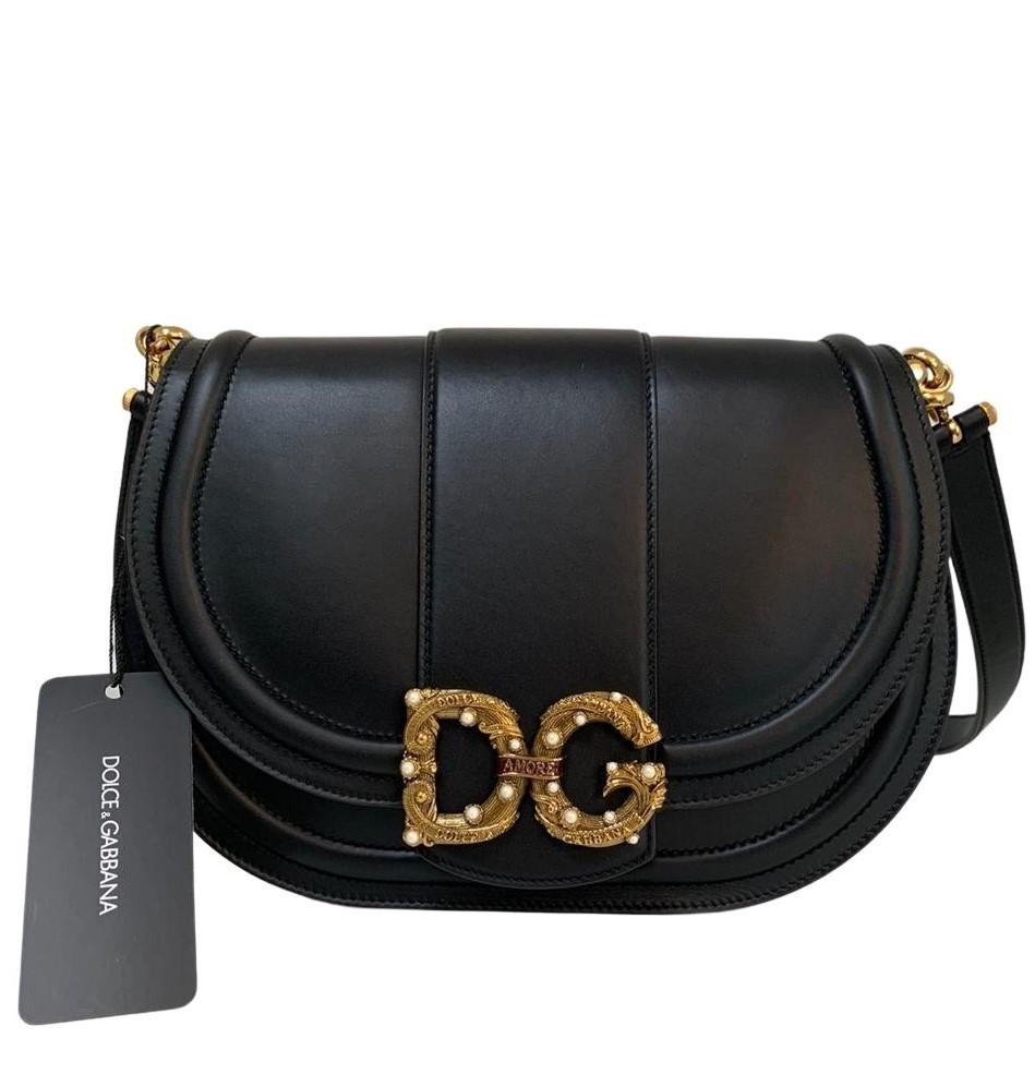 Bolsa Dolce & Gabbana Amore Preta