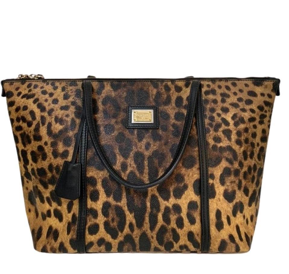 Bolsa Dolce & Gabbana Leopard Print