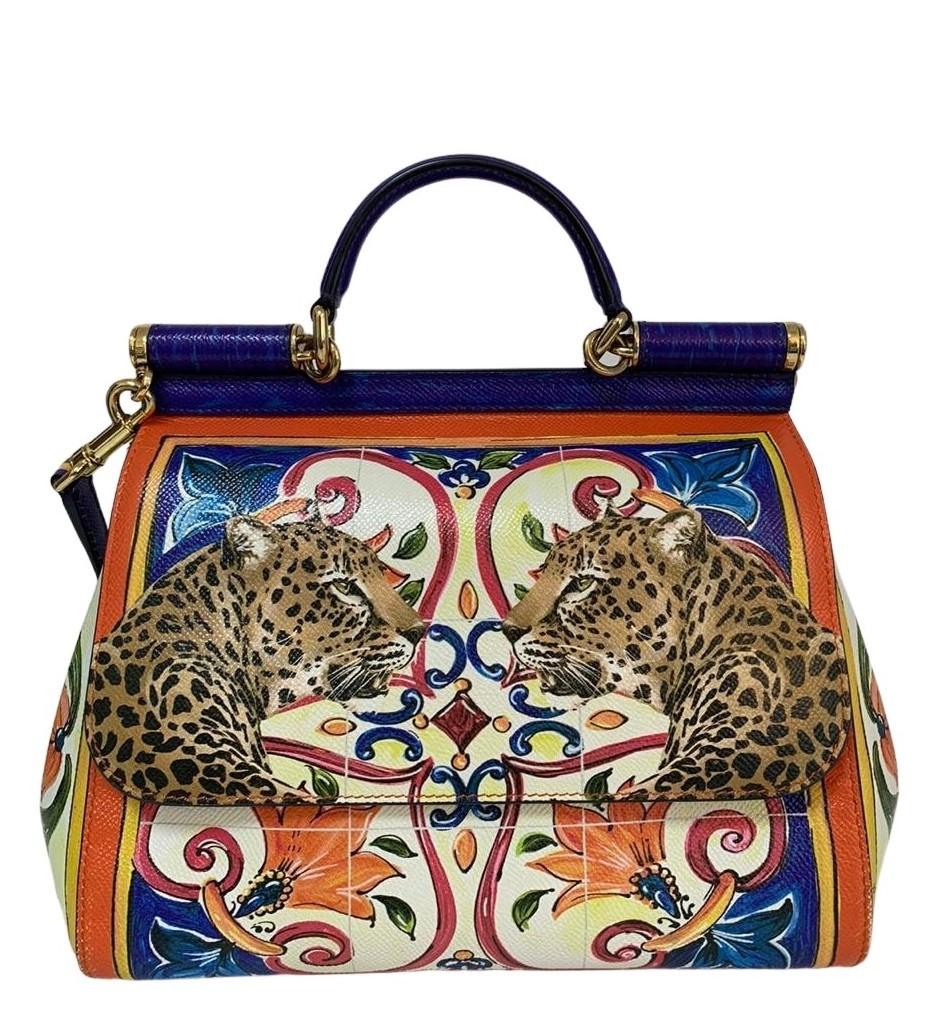 Bolsa Dolce & Gabbana Majolica Print Sicily