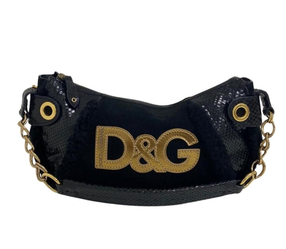 Bolsa Dolce & Gabbana Shoulder Preta
