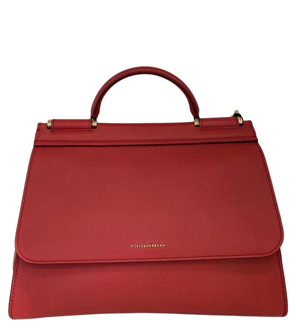 Bolsa Dolce & Gabbana Sicily Vermelha
