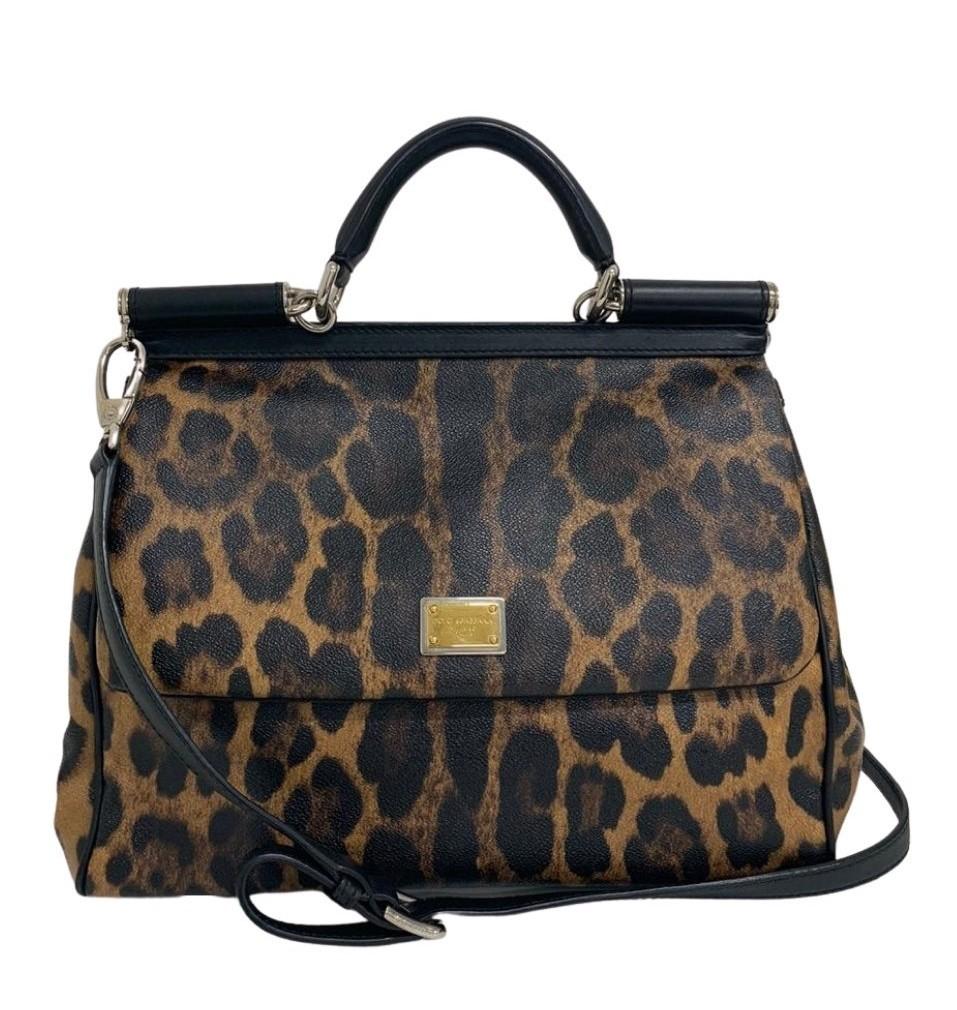 Bolsa Dolce & Gabbana Sicily Leopard
