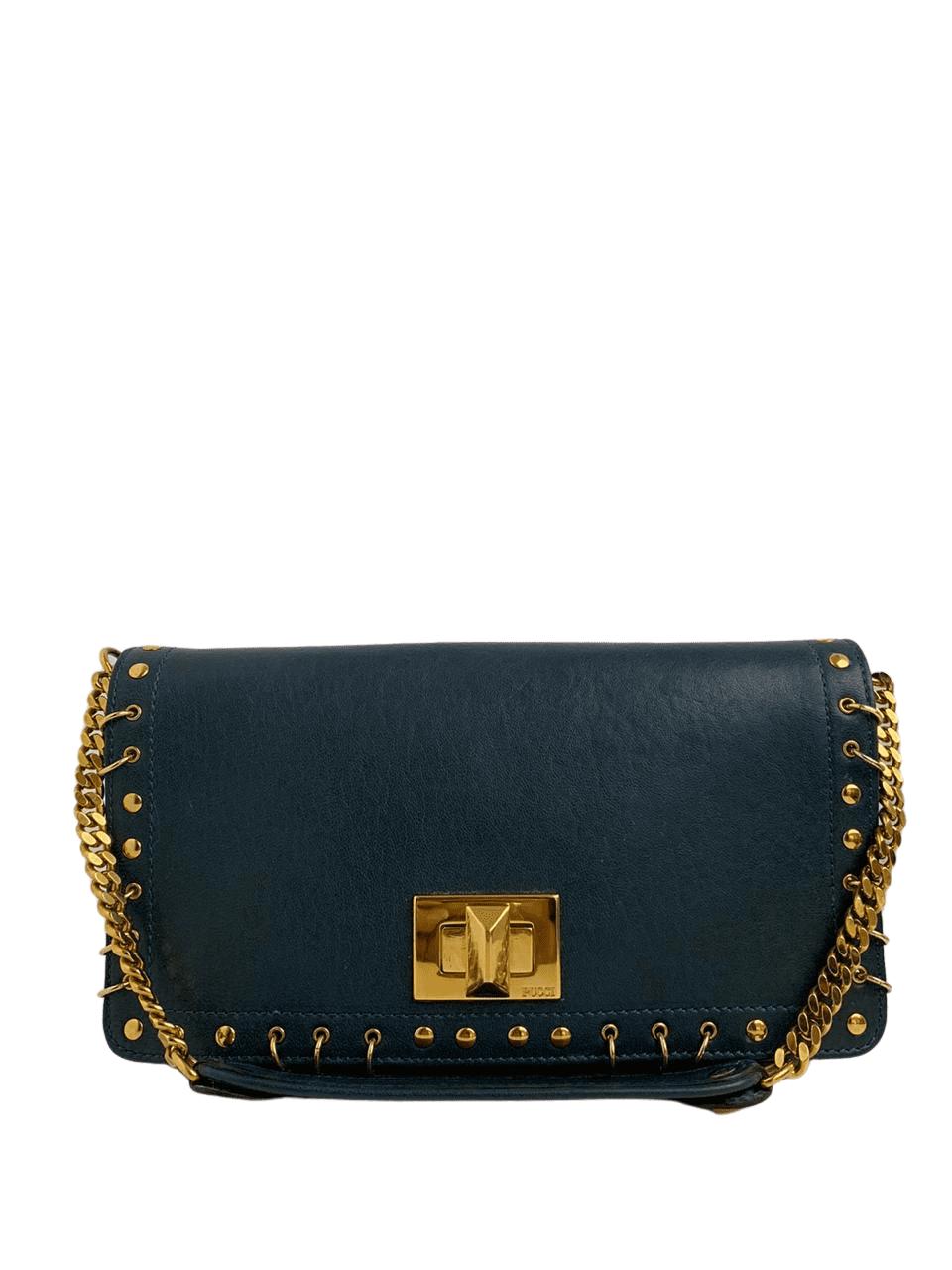 Bolsa Emilio Pucci Azul Escuro