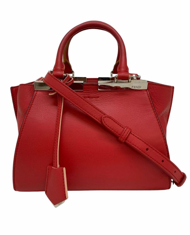 Bolsa Fendi 3Jours Mini Vermelha