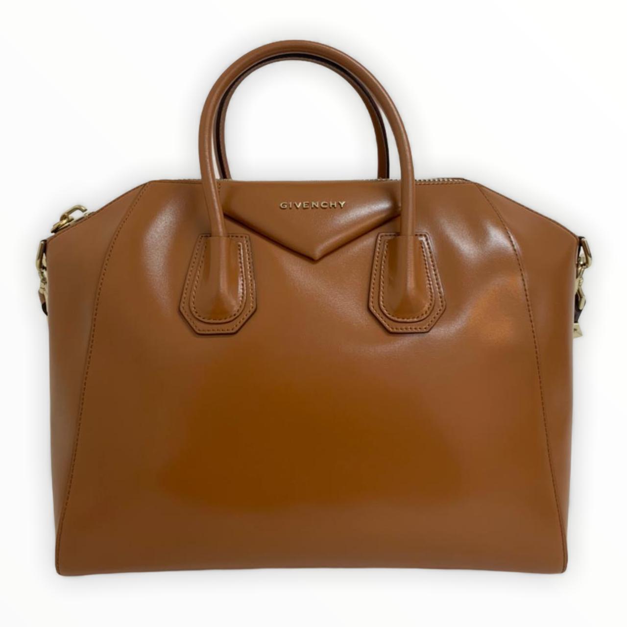 Bolsa Givenchy Antigona Caramelo