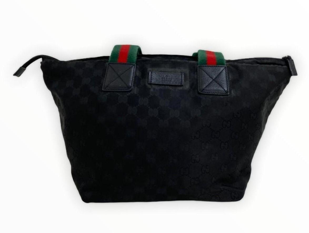 Bolsa Gucci Black GG Canvas