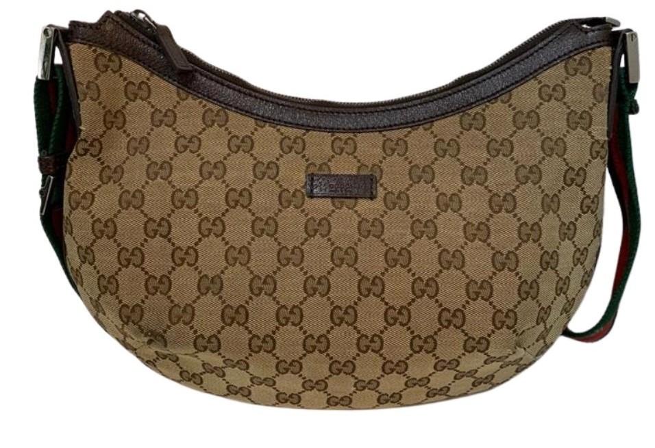 Bolsa Gucci Canvas Round Messenger