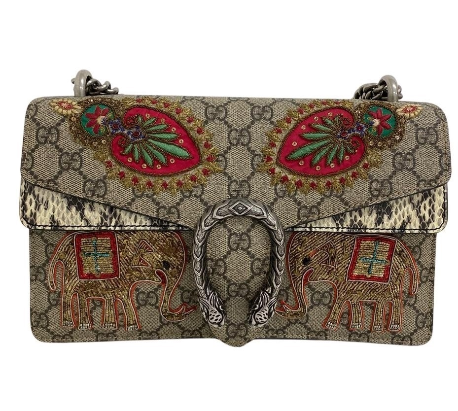 Bolsa Gucci Dionysus Embroidered