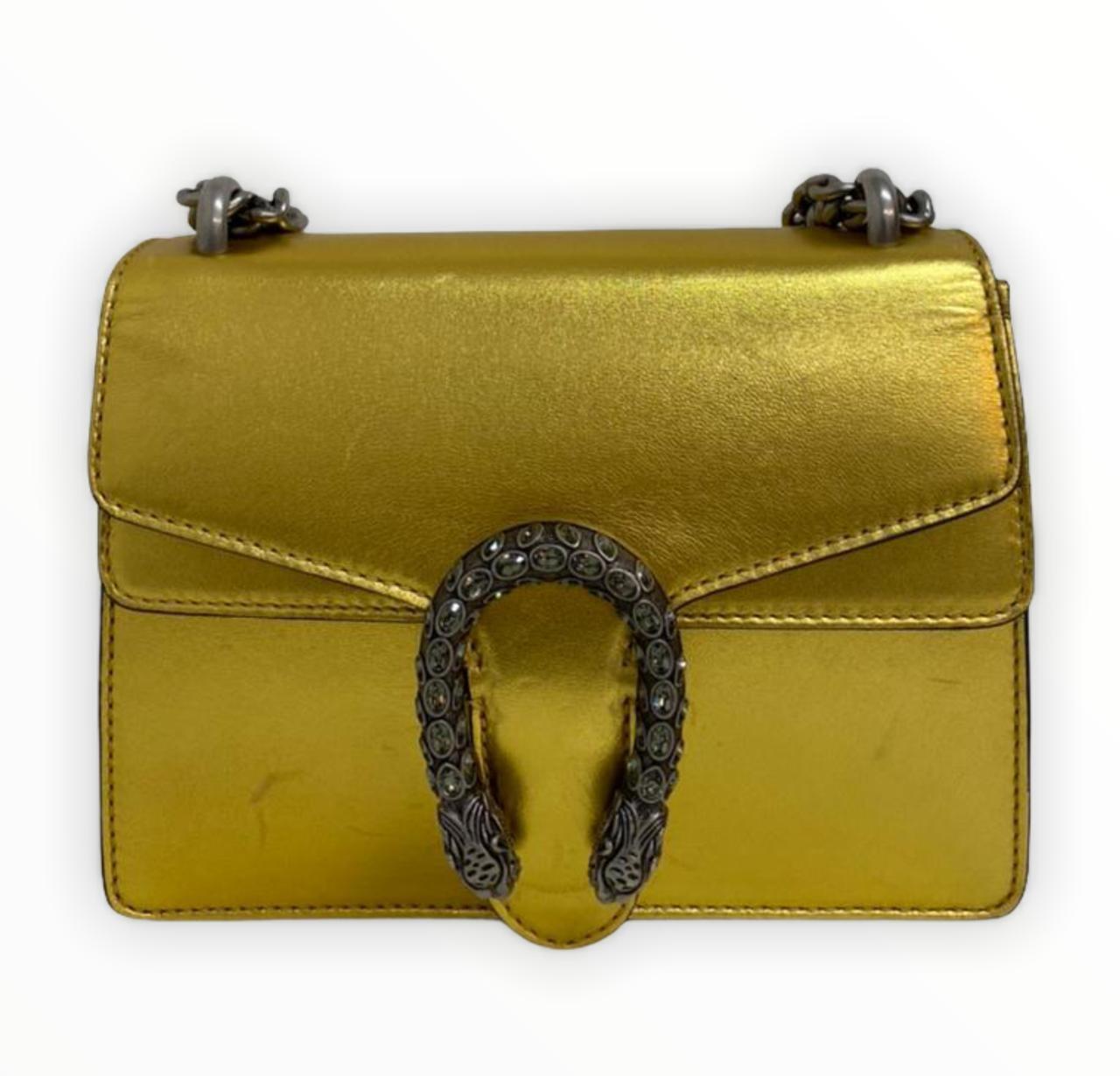Bolsa Gucci Dionysus Gold