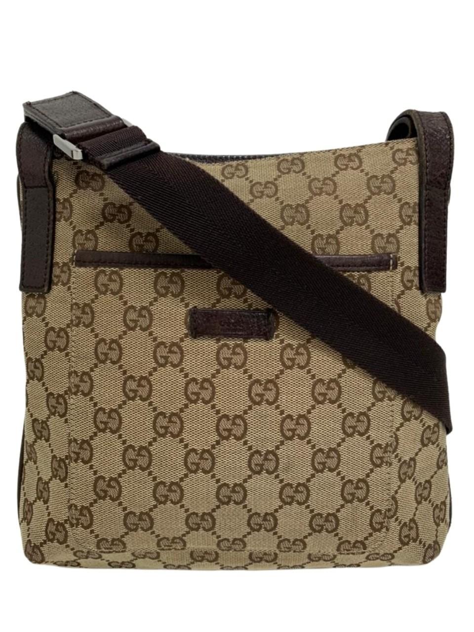 Bolsa Gucci GG Canvas Crossbody