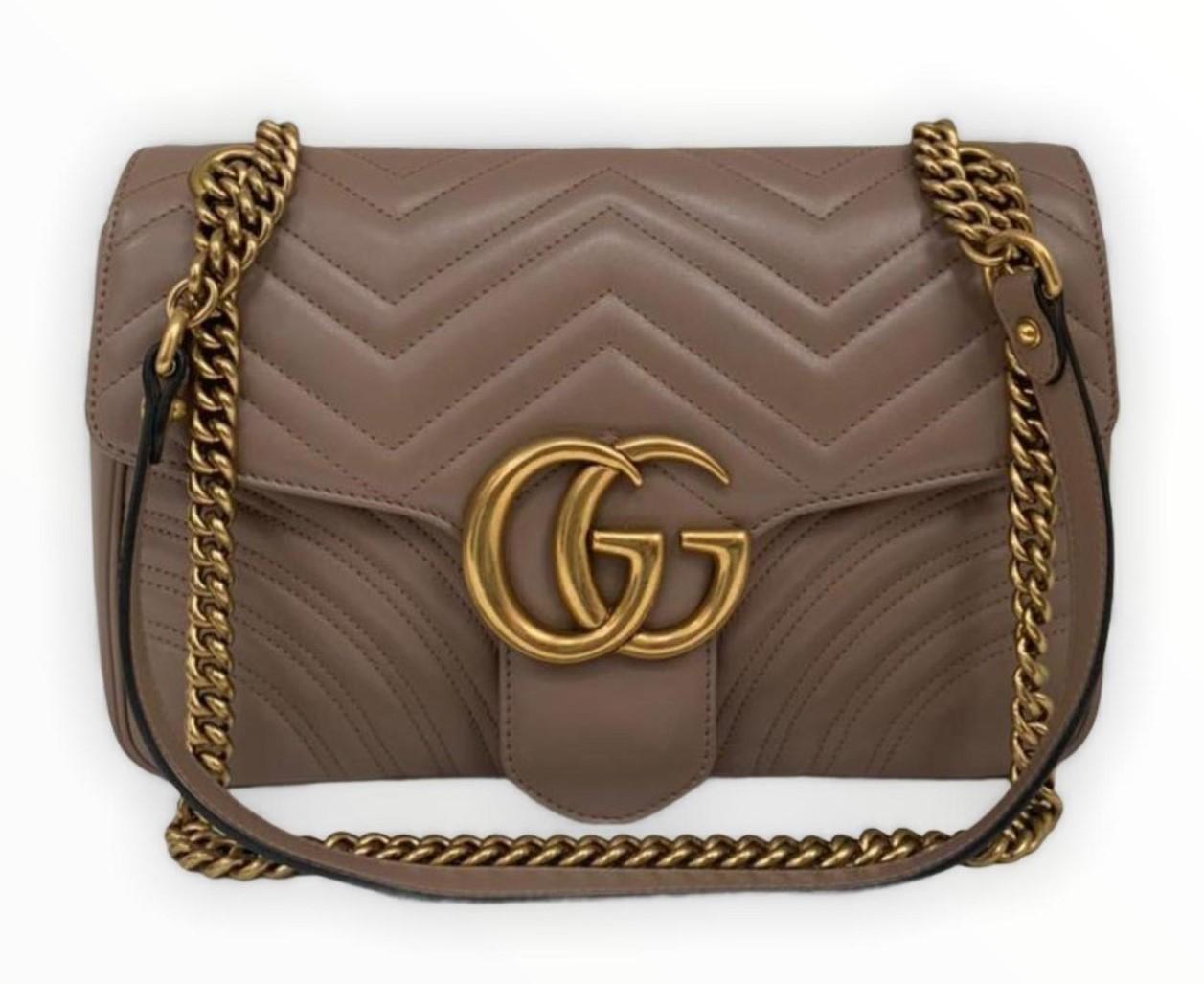 Bolsa Gucci GG Marmont Matelassé