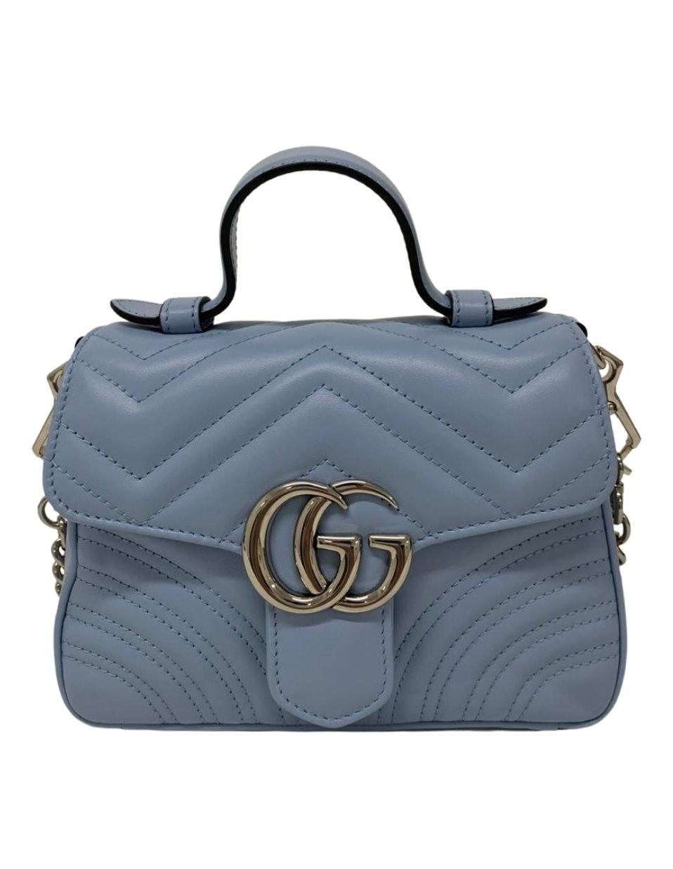 Bolsa Gucci GG Marmont Mini Top Handle