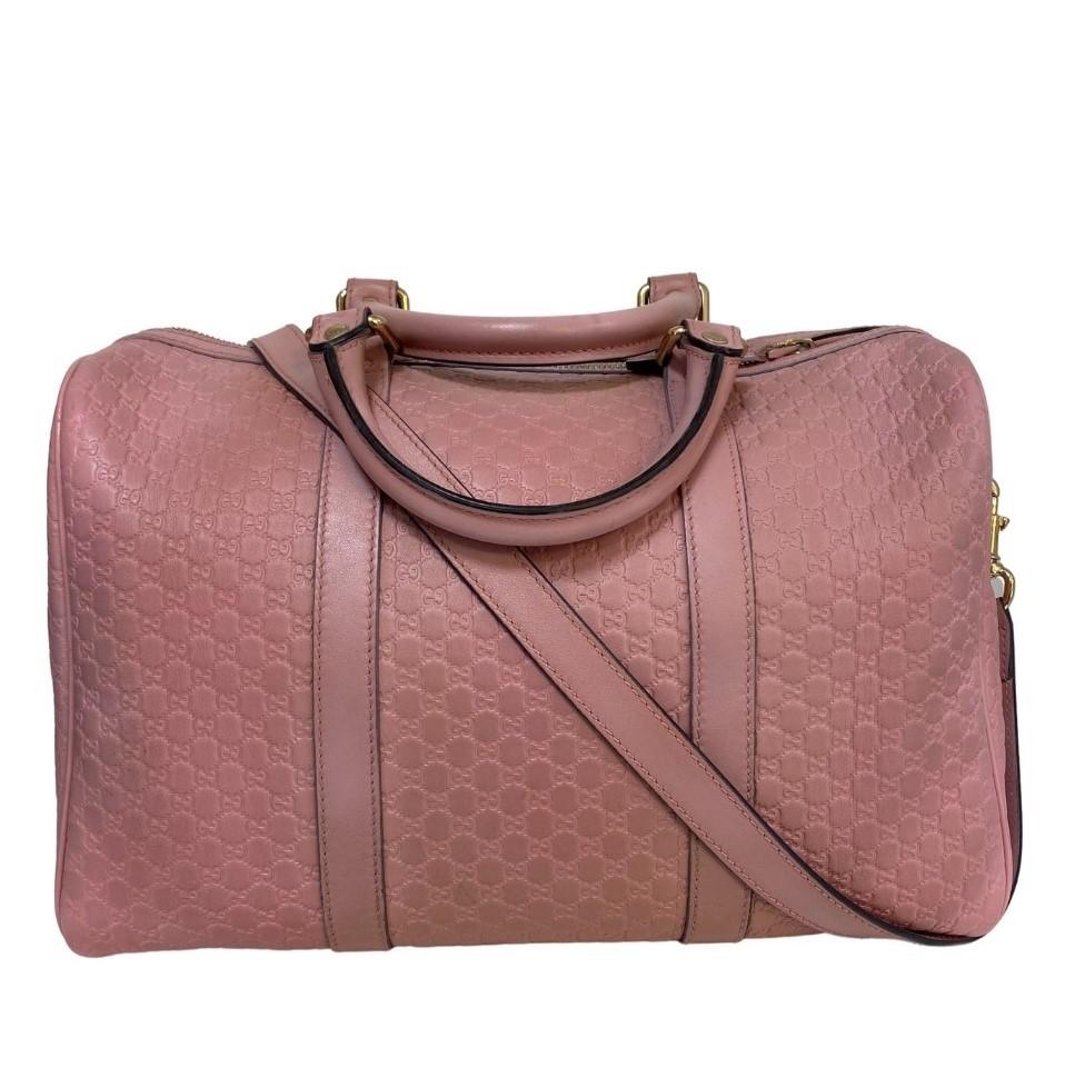 Bolsa Gucci Guccissima Boston NWT Rosé