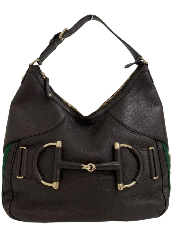 Bolsa Gucci Horsebit Heritage Hobo