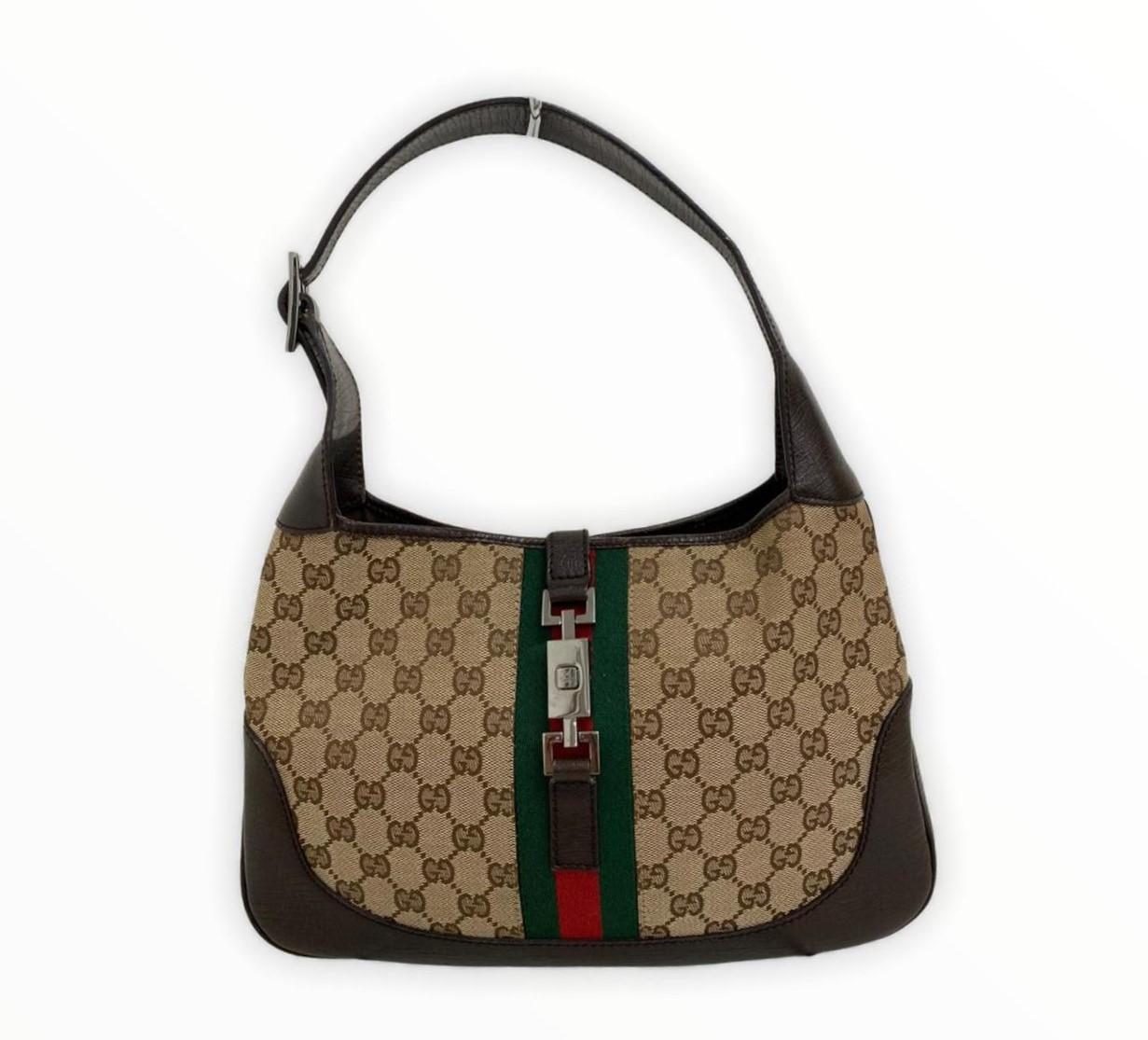 Bolsa Gucci Jackie GG Canvas