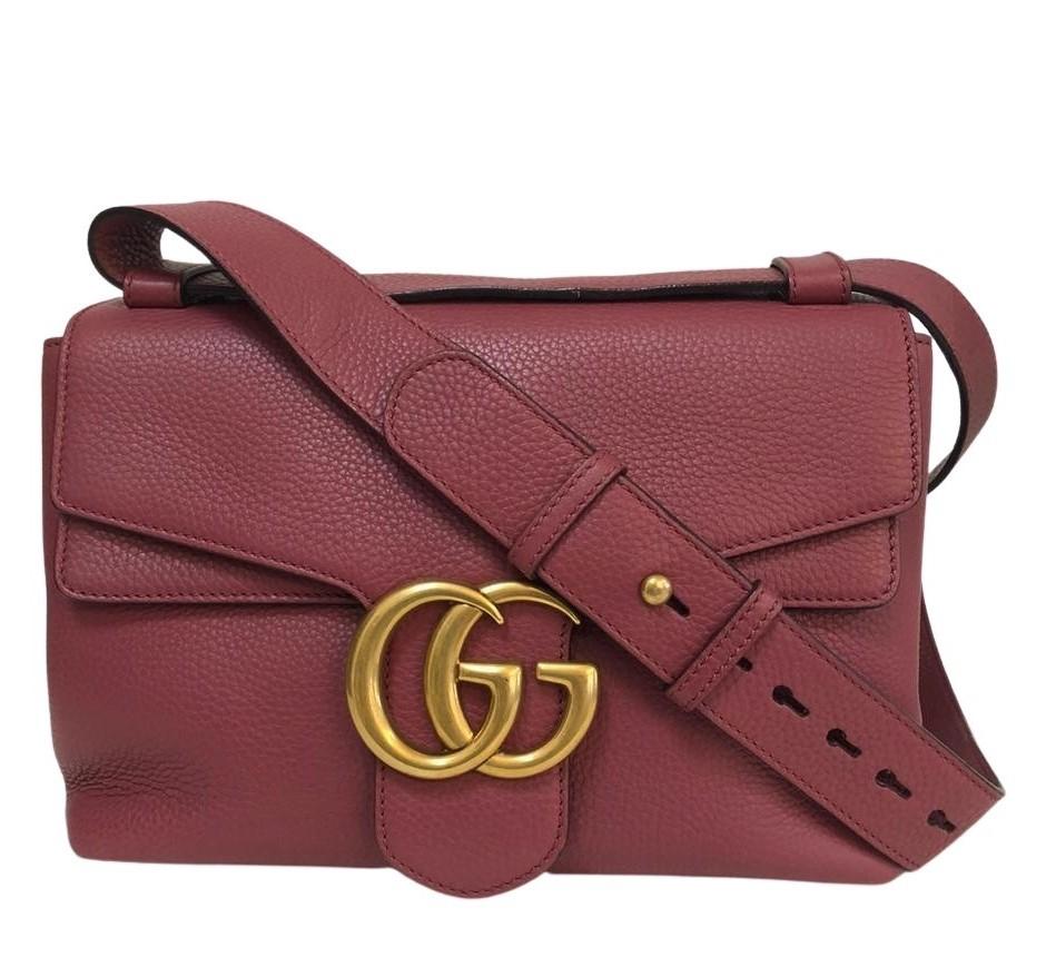 Bolsa Gucci Marmont Vinho