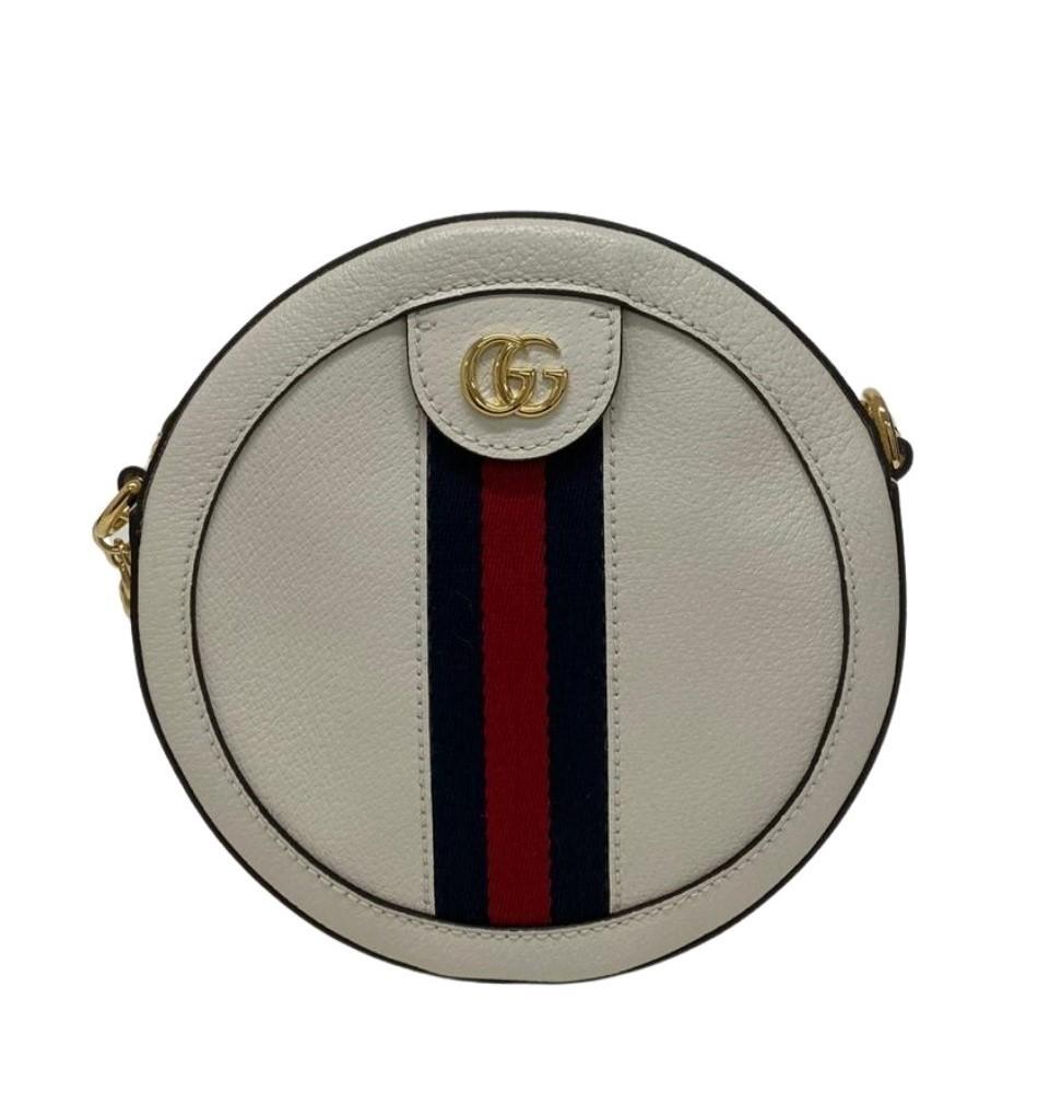 Bolsa Gucci Ophidia Mini Round