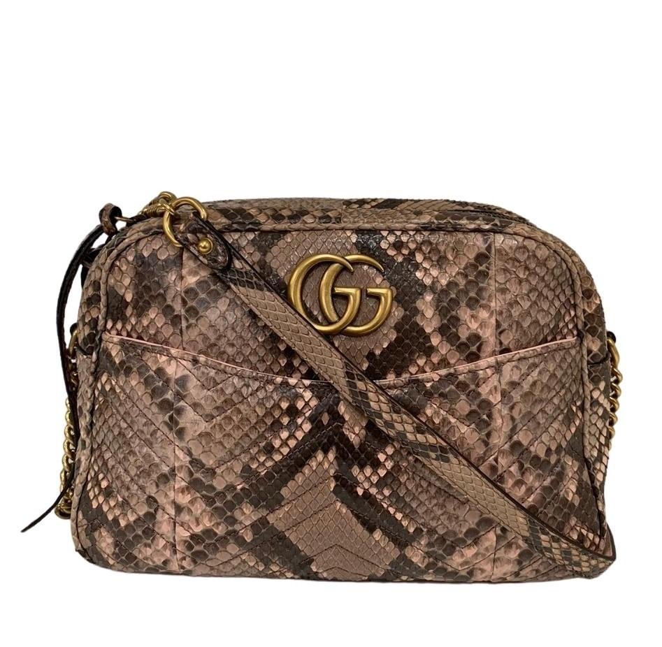 Bolsa Gucci Python