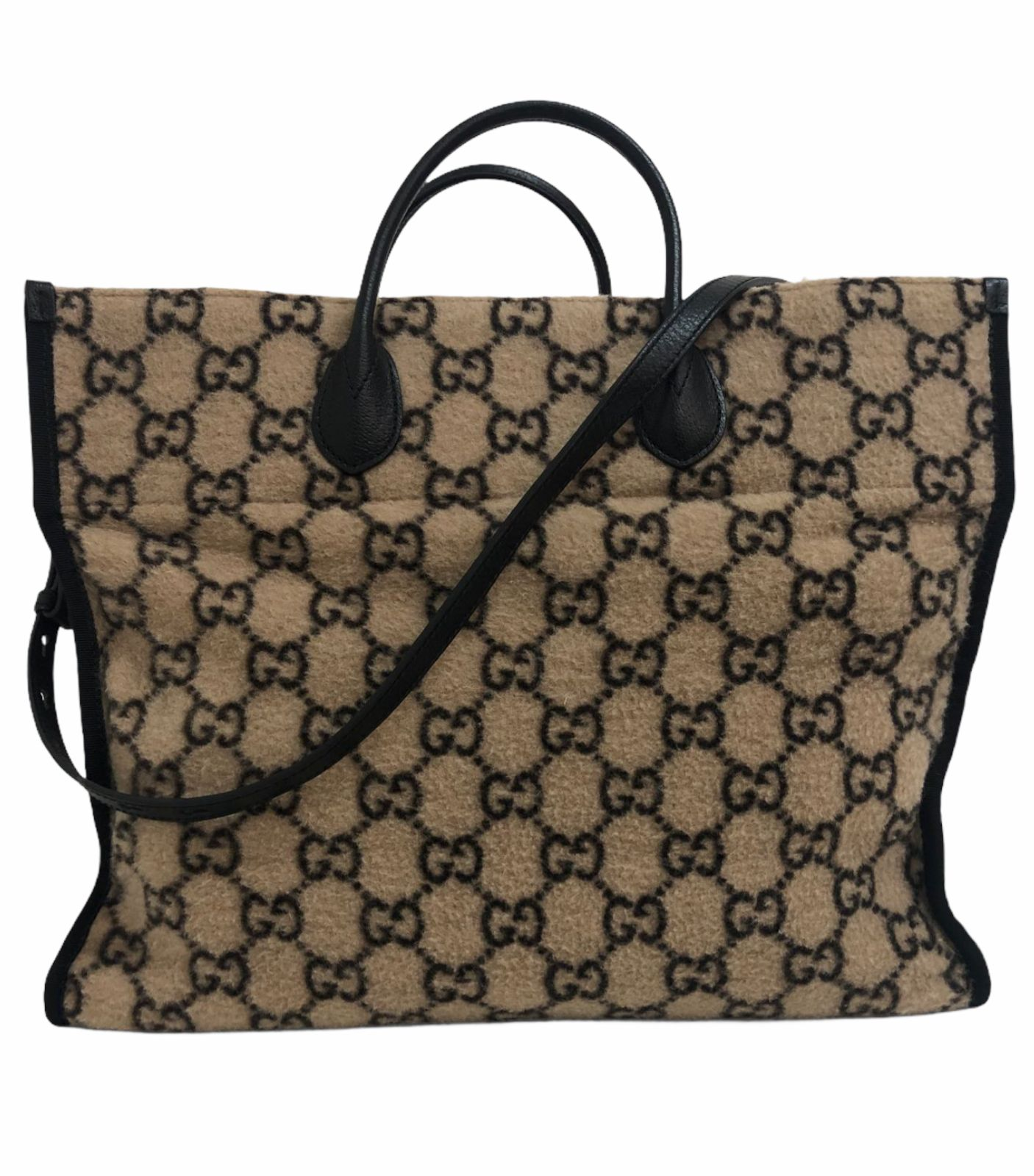 Bolsa Gucci Shopping GG Wool Large