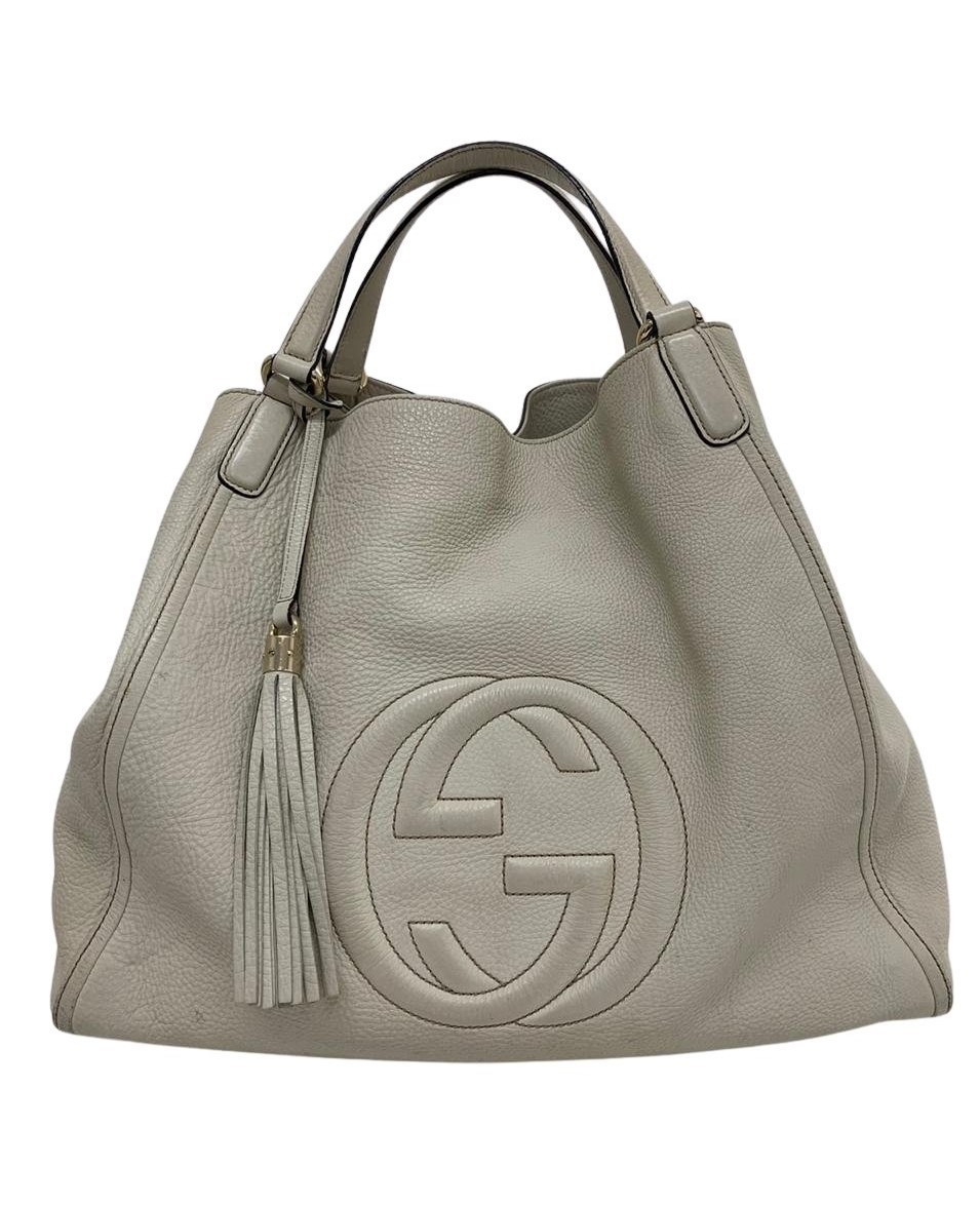 Bolsa Gucci Soho Hobo Off-White