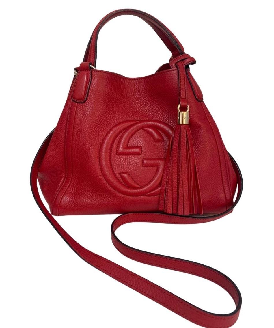 Bolsa Gucci Soho Shoulder Vermelha