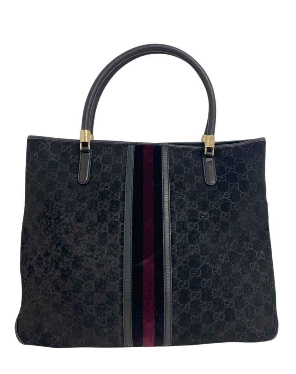 Bolsa Gucci Suede Shoulder