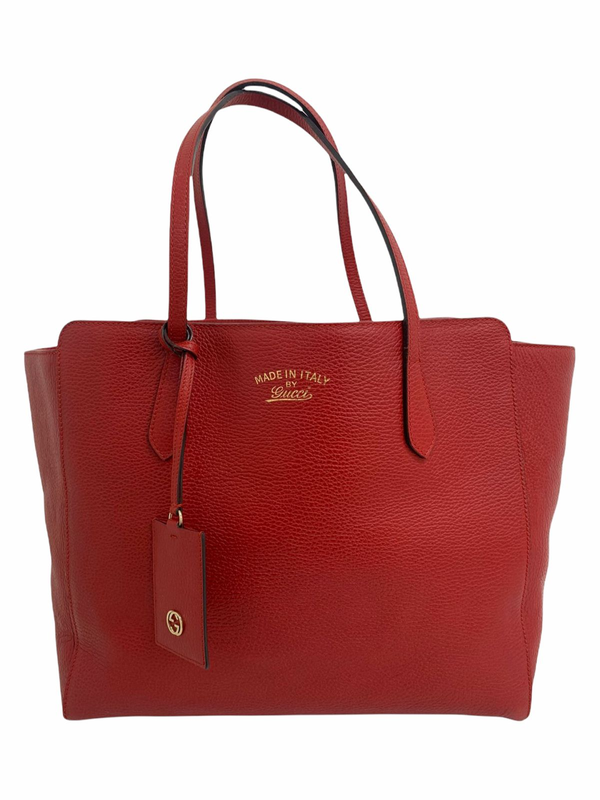 Bolsa Gucci Swing Tote Medium Vermelha