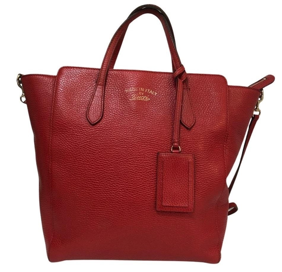 Bolsa Gucci Swing Vermelha