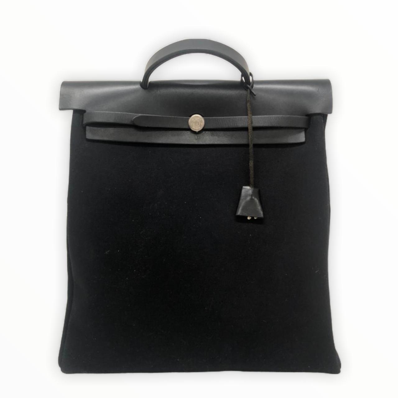Bolsa Hermès Herbag 39 Preta