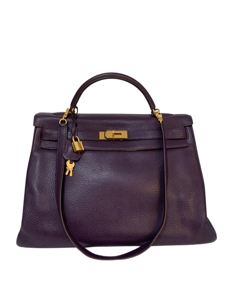 Bolsa Hermès Kelly Beringela