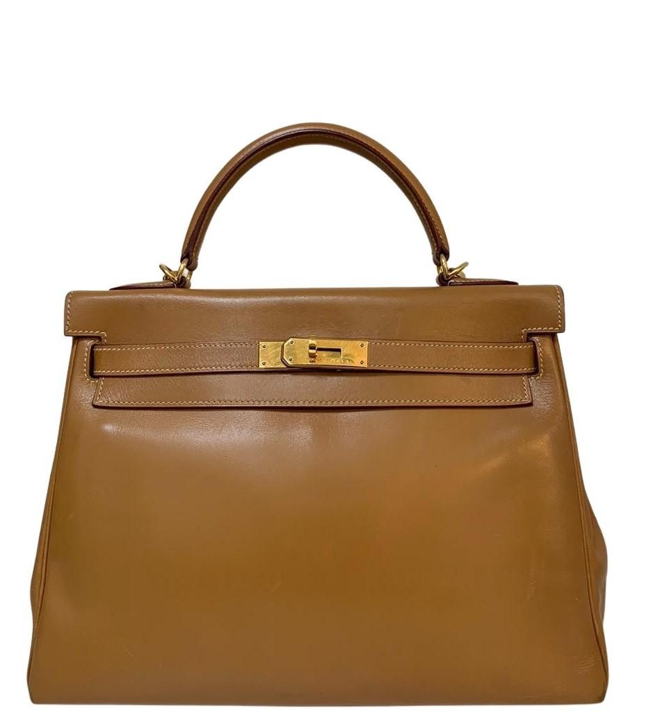 Bolsa Hermès Kelly Caramelo